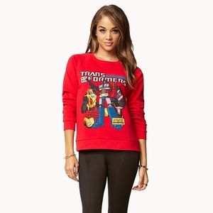 Forever 21 Transformers Sweater
